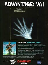 Steve Vai hand x-ray 1999 The Ultra Zone ad 8 x 11 advertisement print advert