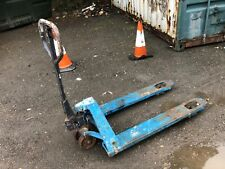 More details for pallet truck used, working .