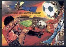 Guinea Bissau - 1982 - Mi. Blok 222b (Voetbal) - Postfris - K4358