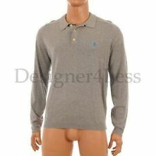 Cotton Collared Long Jumpers & Cardigans for Men