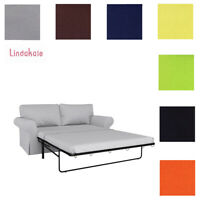 Custom Made Cover Fits IKEA EKTORP 2 seat sofa bed, Sleeper Sofa Cover Clearance