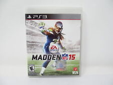 Sony PlayStation 3 PS3 EA Sports Madden NFL 15 Football Video Game