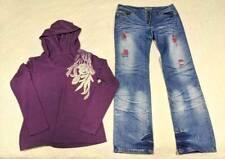 Women's Winter Clothes Size 11/M - Jeans & Top