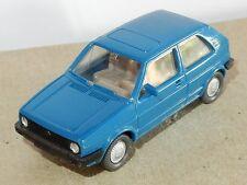RARE MICRO WIKING HO 1/87 VW VOLKSWAGEN GOLF 3 portes avec crochet attelage