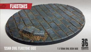 Flagstones 1 x 120mm oval resin base