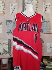 c949e5265 Adidas NBA Jersey Portland Trailblazers Damian Lillard Red