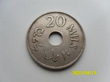 PALESTINE - 20 MILS 1927