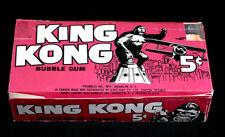 1965 Topps King Kong Display Box - Printers Proof Box - ONE OF A KIND