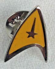 STAR TREK - GOLD Star Fleet Logo Classic 1960's Sci-Fi TV Series - Enamel Pin