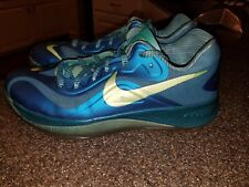 69f3d31ec607 Nike Hyperfuse Low ELEMENTS PACK AQUA WATER Blue Green Tropical 10.5 555034  403