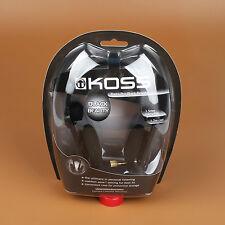 Koss Porta Pro PortaPro Headband Headphones - Black Straight Plug Deep Bass