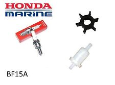 Honda 15hp BF15A Outboard Service Kit (No Oil) (Impeller Spark Plug Fuel Filter)