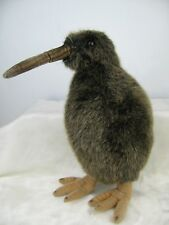 "Kiwi Bird Plush Thomas Boland & Co 2000 Hansa Realistic Animal 11"" Tall Adj Legs"