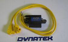 Yamaha RD350YPVS Dyna hi performance Mini ignition coil,& Taylor leads yellow