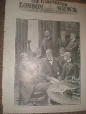 La politique britannique comité de défense fait permanent 1903 OLD PRINT ref X