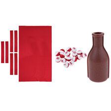 9ft Wool Billiard Snooker Table Cloth Felt & Kelly/Pill Pool Bottle and Peas