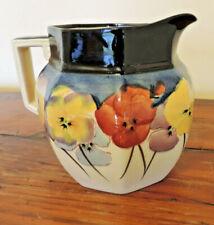 Royal Doulton Pansy jug – 13.5 cm tall