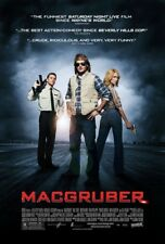 MACGRUBER MOVIE POSTER 2 Sided ORIGINAL 27x40 WILL FORTE KRISTEN WIIG