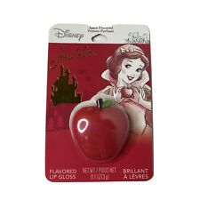 Disney Apple Flavored Lip Gloss Sealed Snow White .11 Ounces