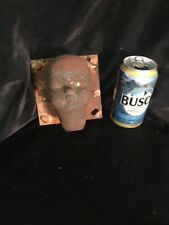 Industrial Factory Copper Doll Mold, Steampunk, Altered Art