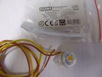 Brawa 94700 1 x Beleuchtungssockel LED-warmweiß, Spur H0,Neuware
