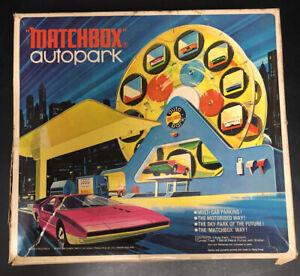 RARE Vintage Matchbox Autopark 1970