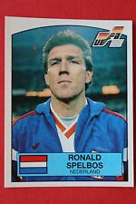 Panini EURO 88 N. 218 NEDERLAND SPELBOS BINGOL BACK VERY GOOD / MINT CONDITION!