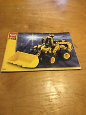 LEGO 8453 Technic Front End Loader Manual Only BD1