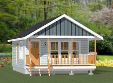 18x30 Tiny House -- 540 sq ft -- PDF Floor Plan - Model 5A
