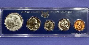 1965 Special Mint Set SMS in Genuine US Mint Set Holder, Silver Kennedy! + BONUS