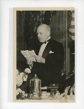 Docteur Mario De Pimentel Brandao, ministre brésilien des Affaires Etrangères à