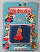 1989 Nintendo Collector Pin Princess Toadstool Sealed NIB Series A #18 NES era