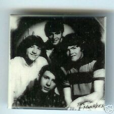 the MONKEES early photo pin 1 in SQUARE pinback button