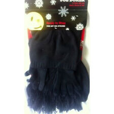Set of Gloves Scarf & Hat Warm Winter Gift Black christmas Holiday Joe Boxer New