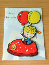 BIRTHDAY CARD - CHILDRENS ~ Dodgem Car