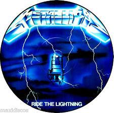 LP - Metallica - Ride The Lightning (HEAVY METAL) VINYL PICTURE DISC, NEW, NUEVO