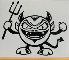 adesivo DIAVOLO devil wall sticker decal vynil vinile auto moto car helmet casco
