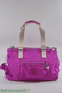 New With Tag Kipling Missy Handbag Shoulder HB6678 673 - PINK ORCHID MIX