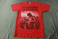 Sleeping with Sirens Red Band T Shirt Size Medium