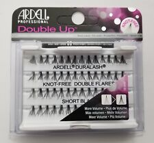 (LOT OF 3) Ardell Duralash Knot-Free DOUBLE UP Flares SHORT Individual Lashes