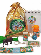 Jungle loot/party bag with 8 items inside, great value