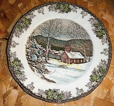 Johnson Brothers Friendly Village The School House Fine Porcelain Buffet Plate