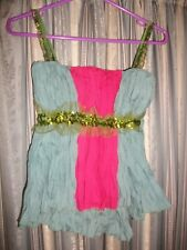 Colourful Little Clubbing Top Size 8-10 BOON collection