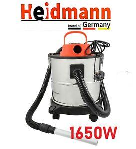 20L ASH Vacuum Cleaner Bagless Hoover Portable Hepa Smoke Bagless fireplace