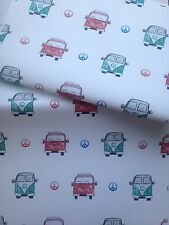 Campervan Wrapping Paper, Gift Wrap, For Campervan Lovers, Read Details