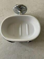 Samuel Heath wall mounted soap dish chrome - Curzon range