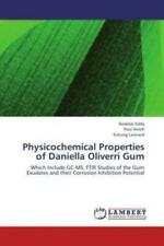 Physicochemical Properties of Daniella Oliverri Gum Which Include GC-MS, FT 1943