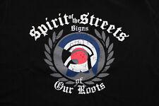 Spirit of the Streets T-Shirt Gr.L Männer Men Oi! Skinhead Punk Mod Hooligan SKA