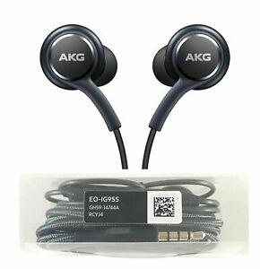 UK AKG Earphones Samsung Galaxy Headphones Handsfree Earbud For S10 S9 S8 Plus
