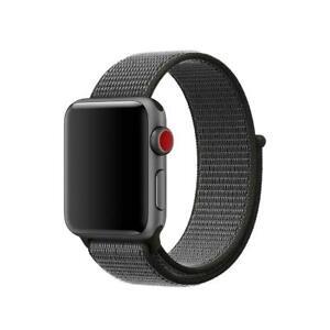Woven Nylon Flash Sport Loop Watch Band Bracelet For Apple Watch series 7/6/5/4